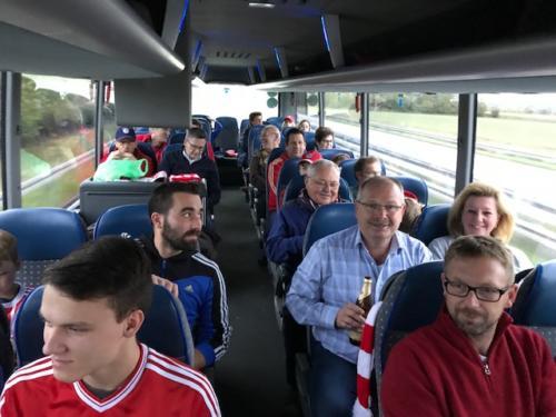 Fahrt gegen Ajax Amsterdam