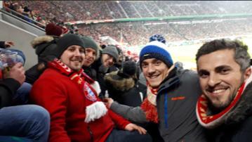 DFB Pokalspiel gegen Borussia Dortmund