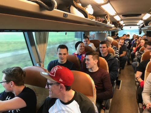 Bundesliga Spiel gegen Hoffenheim
